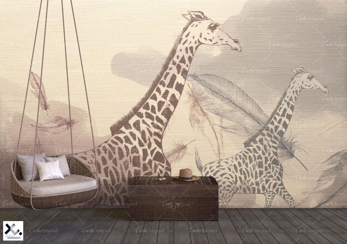 DESIGN VERSION: Printed on Creme Silk Cotton