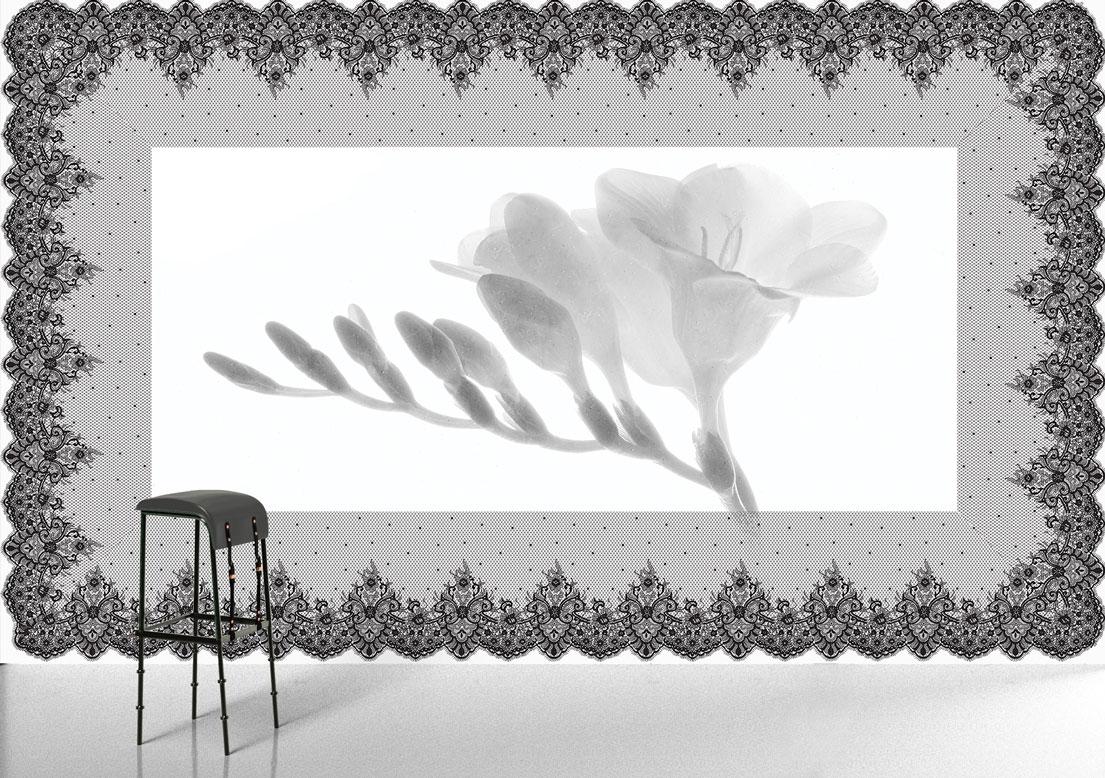 Flower Wallpaper Scent Of A Woman Wall Art Wallsbeyond Com