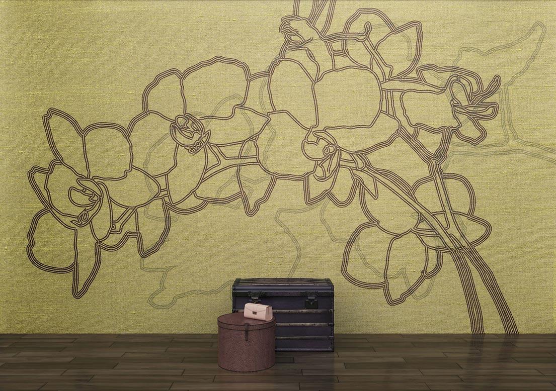 """Silk wallpaper """"Legend"""""""
