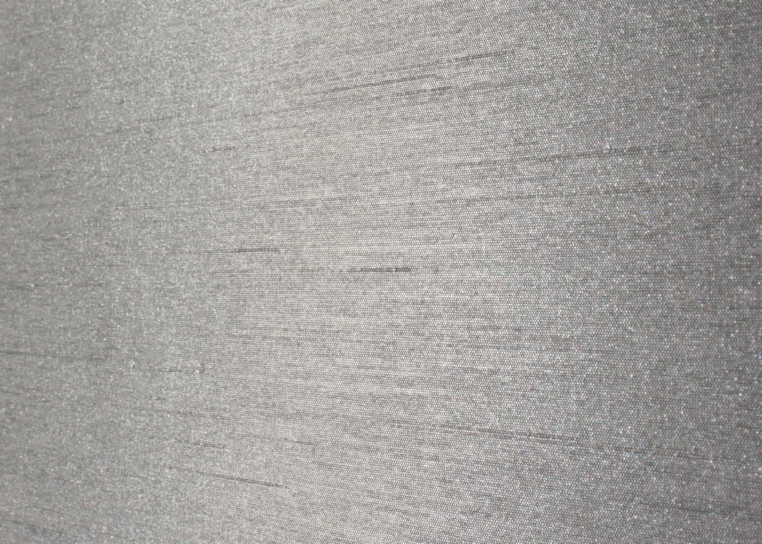 "Artificial Silk Wallpaper ""Silver"""