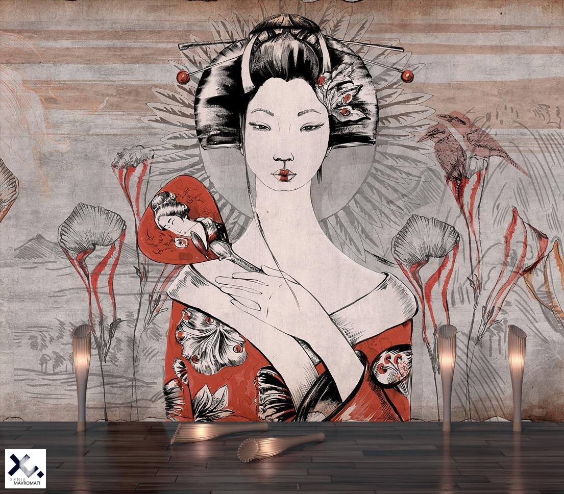 """""""Forgotten beauty"""" art wallpaper by wallsbeyond.com"""