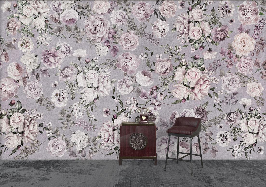 """Blossoming"" art wallpaper by wallsbeyond.com"