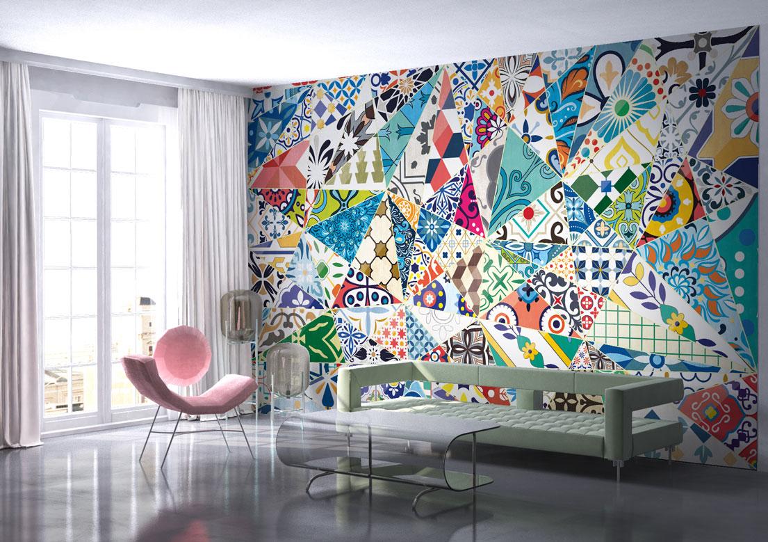 """Granada"" art wallpaper by wallsbeyond.com"