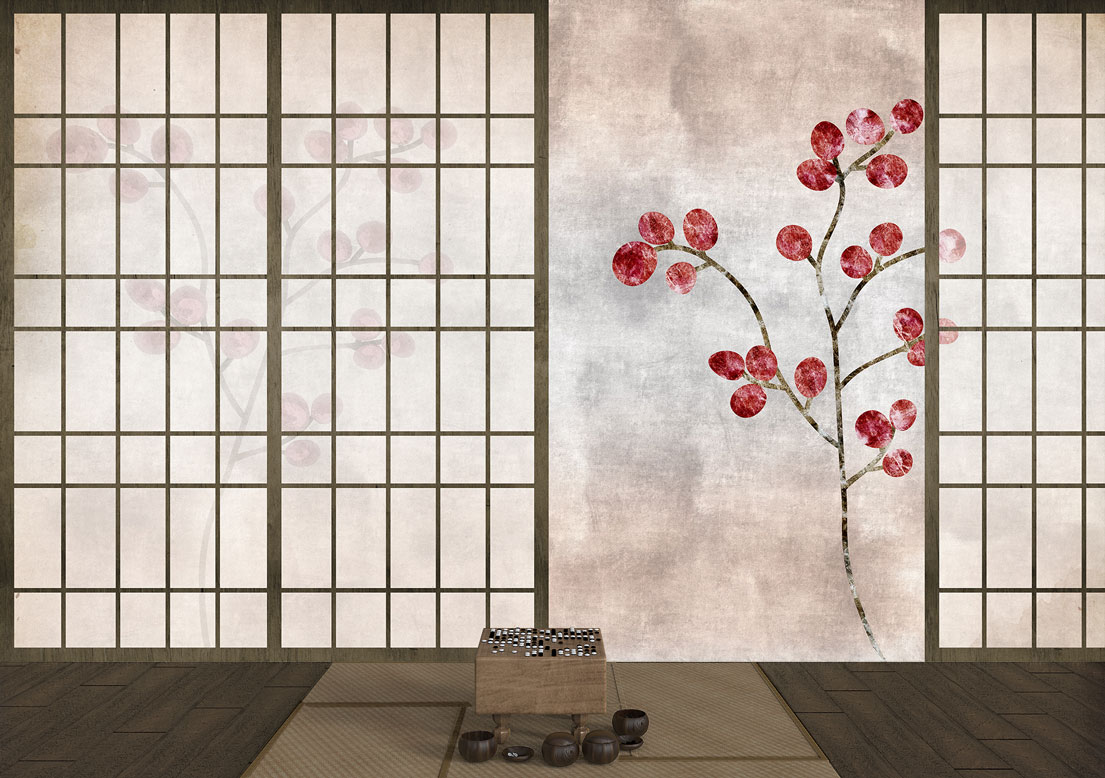 """May in Kyoto"" art wallpaper by wallsbeyond.com"