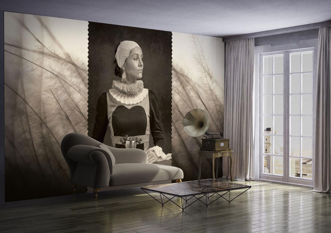 """Milady"" art wallpaper by wallsbeyond.com"