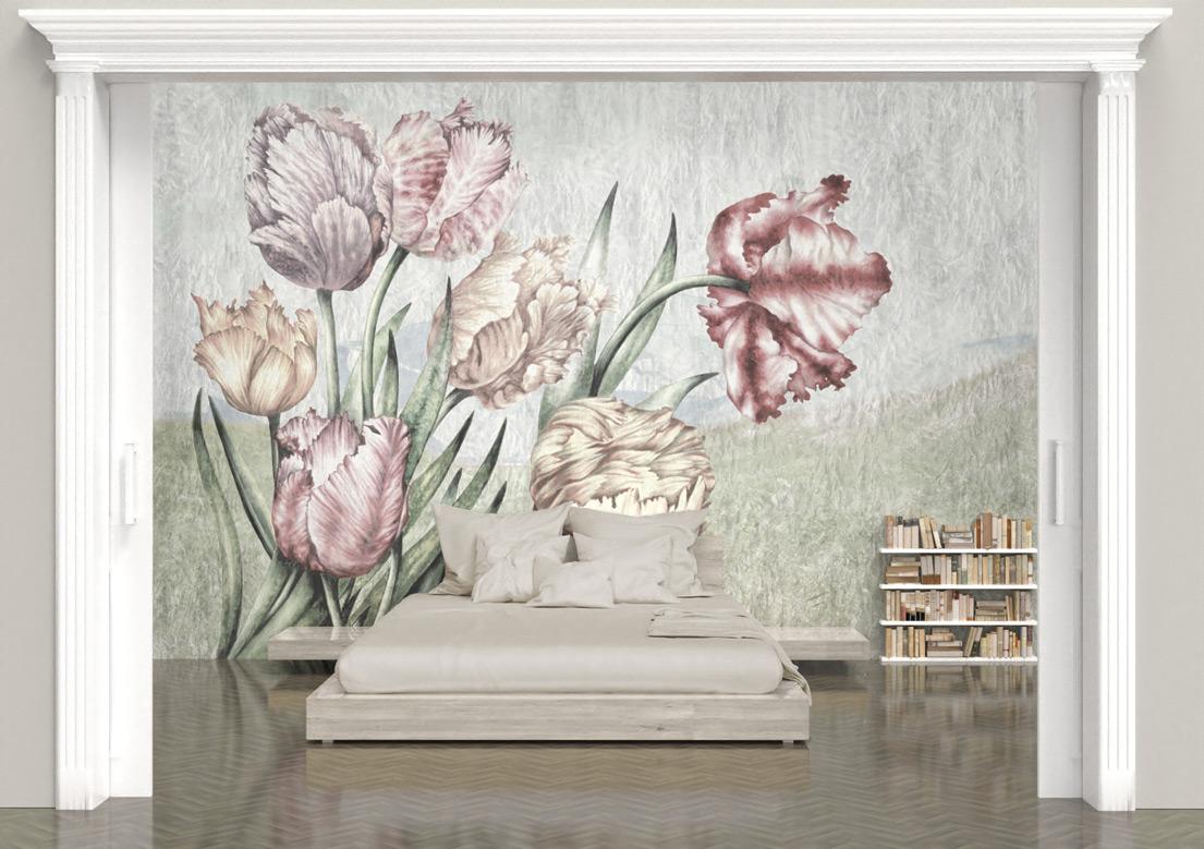 """Lente"" art wallpaper by wallsbeyond.com"