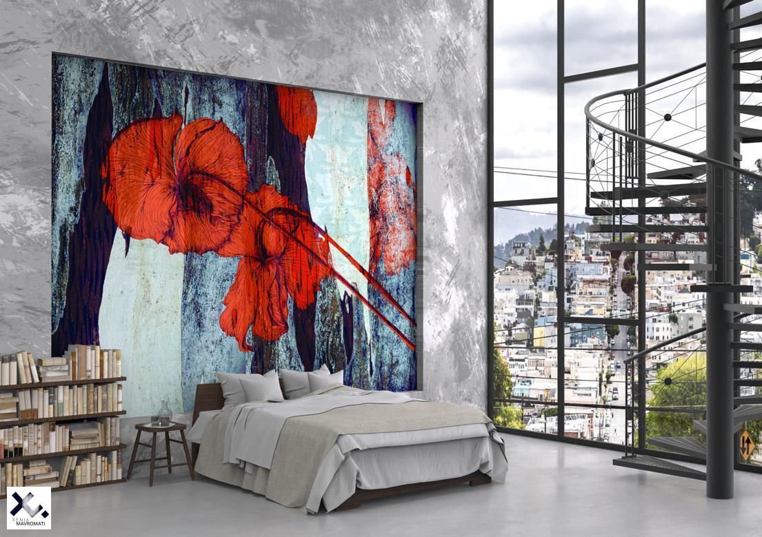 """""""Secret garden"""" art wallpaper by wallsbeyond.com"""