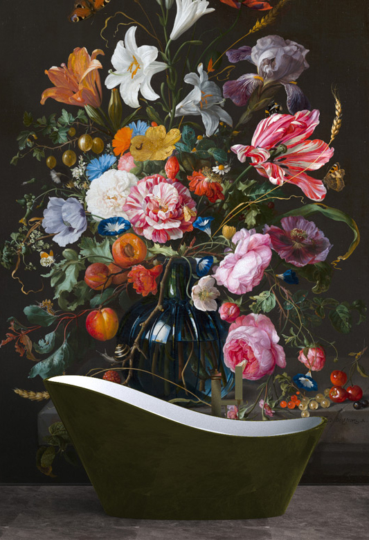 Vase of Flowers (reproduction)