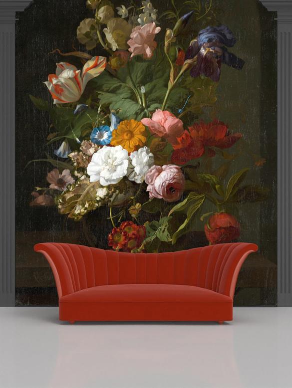 Rachel Ruysch, Vase with Flowers