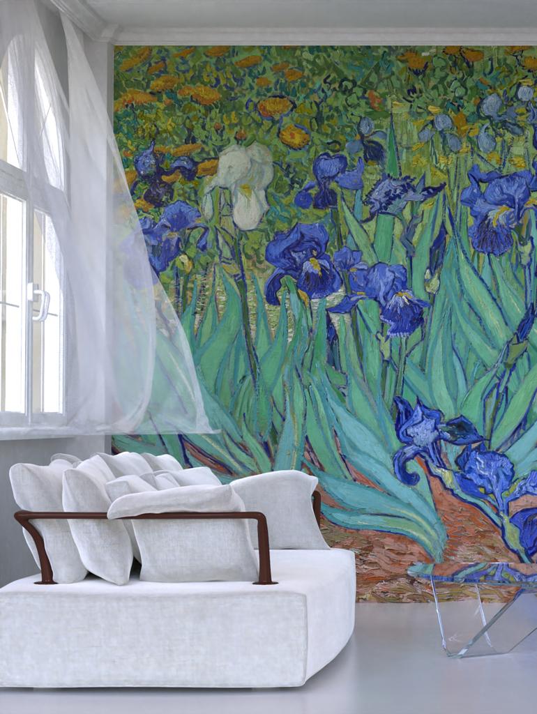 Vincent Van Gogh, Irises (1889)